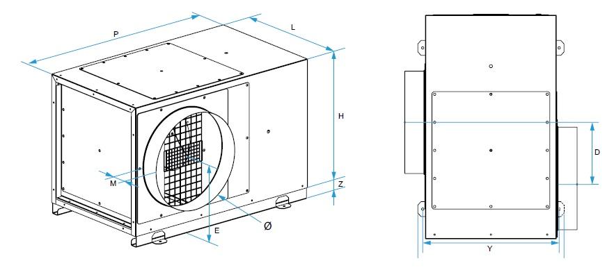 EasyVEC Micro-watt 3000 rozměry